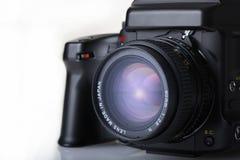 照相机格式媒体 免版税库存图片