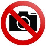 照相机没有 免版税库存图片