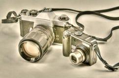 照相机演变 图库摄影