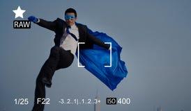 照相机焦点捕获记忆摄影预览概念 免版税图库摄影