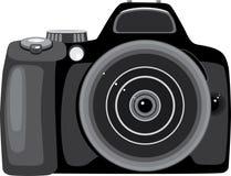 照相机照片 向量例证