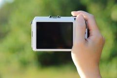 照相机特写镜头  库存照片