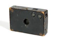 照相机玻璃老木头 免版税库存图片
