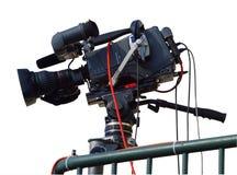 照相机电视 库存照片