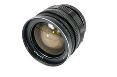 照相机的透镜苏维埃在白色背景 库存图片