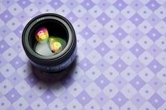照相机眼睛 免版税库存图片