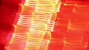 照相机移动和光事假踪影 低帧率被射击霓虹灯 影视素材