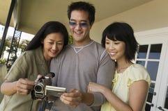 照相机系列视频注意 免版税库存照片
