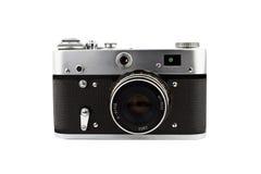 照相机紧凑葡萄酒 免版税库存照片