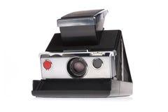 照相机经典即时人造偏光板 库存照片