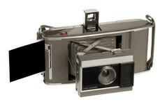 照相机老人造偏光板 库存图片