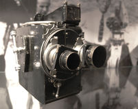 照相机老录影 免版税库存图片