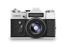 照相机老照片 向量 免版税库存图片