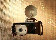照相机葡萄酒 库存图片