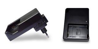 照相机蓄电池充电器 免版税库存图片