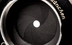 照相机虹膜 图库摄影