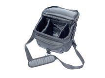 照相机袋子黑色 免版税库存图片