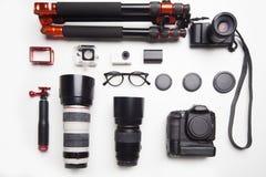 照相机设备 库存图片