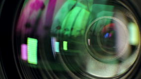 照相机透镜 股票视频