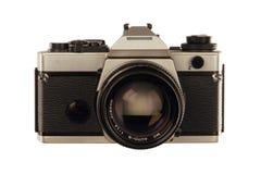 照相机银灰色 库存照片