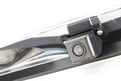 照相机附属的后方汽车 免版税库存图片