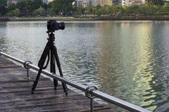 照相机,背景,风景 免版税库存图片