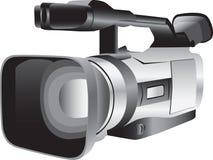 照相机说明的录影 免版税库存图片