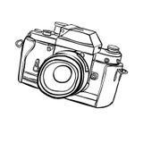 照相机 免版税库存图片
