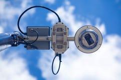 照相机copyspace大量证券 库存图片
