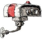 照相机copyspace大量证券 免版税库存图片