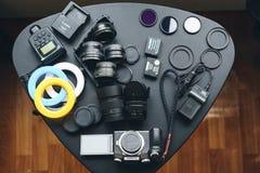 照相机Lumix 免版税图库摄影