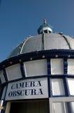 照相机Obscura。伊斯特本英国 免版税库存图片