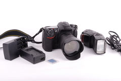 照相机slr 库存图片