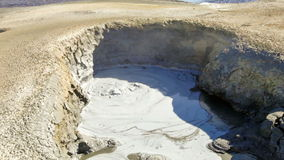 煮沸的泥池 影视素材
