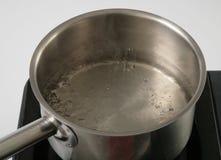 煮沸的淡水 免版税图库摄影
