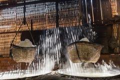 煮沸的盐多山楠府,泰国 免版税库存图片