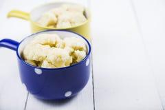煮沸的花椰菜 免版税图库摄影