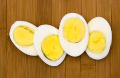 煮沸的蛋坚硬 图库摄影