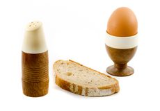 煮沸的蛋软件 免版税库存照片