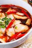 煮沸的鱼 免版税库存照片