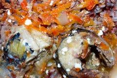 煮沸的鱼 免版税图库摄影