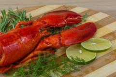 煮沸的龙虾 免版税库存图片