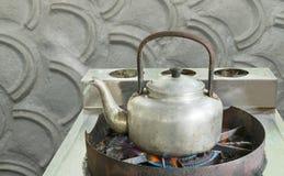 煮沸的水 免版税图库摄影