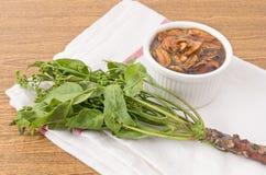 煮沸的Neem泰国食物用甜调味汁 免版税库存图片