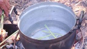 煮沸水 影视素材