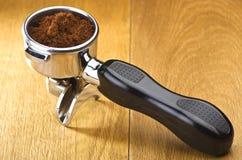 煮浓咖啡器组 图库摄影