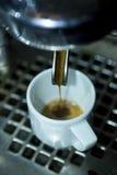 煮浓咖啡器 库存照片