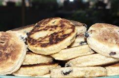 煮熟的威尔士蛋糕 免版税库存图片