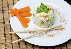 煮熟的米 免版税图库摄影