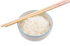 煮熟的米 图库摄影